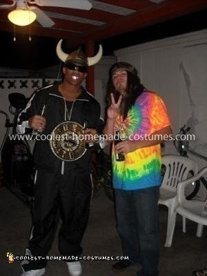 Coolest Homemade Flavor Flav Costume