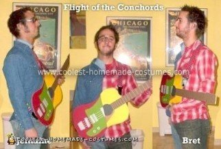 Homemade Flight of the Conchords Costume