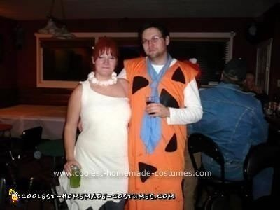 Homemade Flintstones Costume