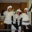 Homemade Flock of Sheep Group Costume