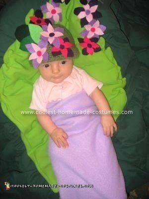 Homemade Flower Bud Costume