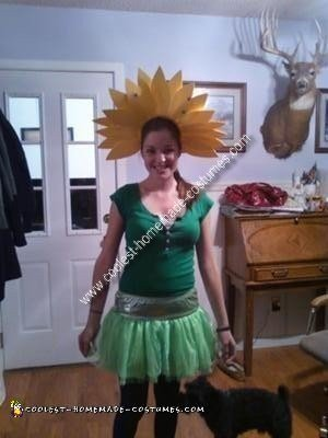 Coolest Homemade Flower Costume