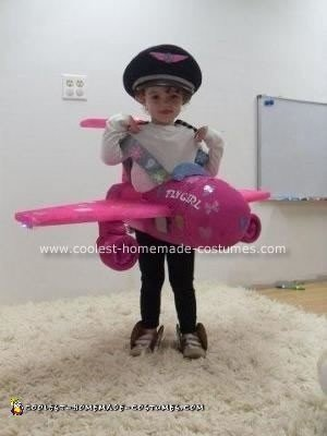 Homemade Fly Girl Halloween Costume