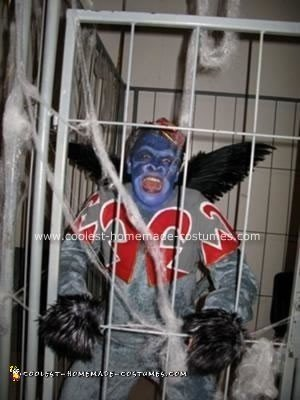 Homemade Flying Monkey from Wizard of Oz Costume