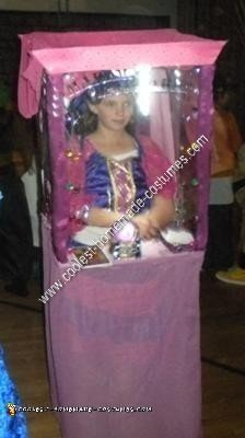 Homemade Fortune Teller Halloween Costume Idea