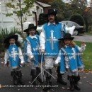 Homemade Four Musketeers Costume