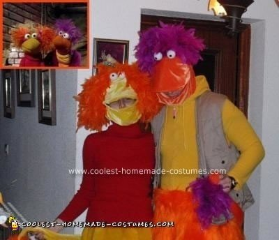 Homemade Fraggle Rock Costumes