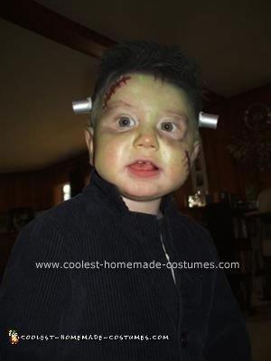 Homemade Frankenstein Costume