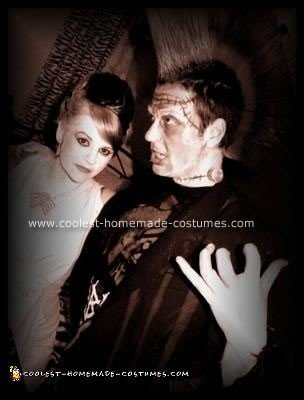 Homemade Frankenstein's Monster Couple Costume
