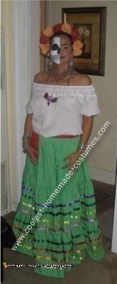 Homemade Frida Kahlo Costume