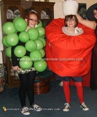 Homemade Fruit of the Loom Costume