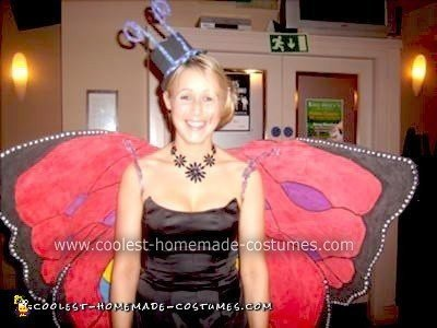 Homemade Funky Butterfly Halloween Costume