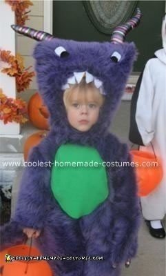 Homemade Furry Monster Costume