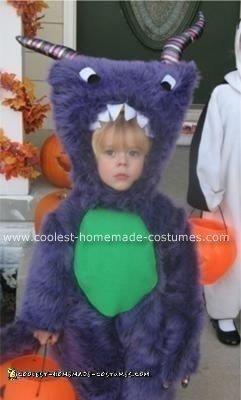 Homemade Furry Monster Costume