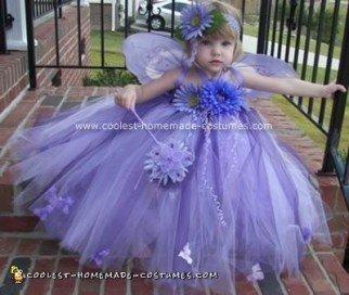 Homemade Garden Fairy Costume