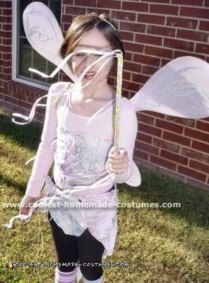 Homemade Garden Fairy Costume