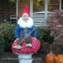Homemade Garden Gnome Halloween Costume