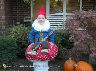 Homemade Garden Gnome Halloween Costume