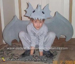 Homemade Gargoyle Costume