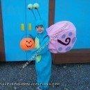 Homemade Gary the Snail Halloween Costume