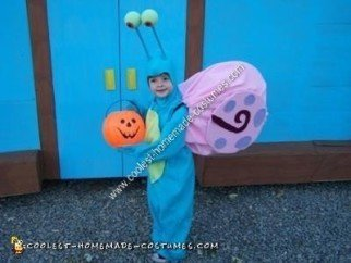 Homemade Gary the Snail Halloween Costume