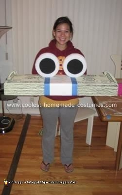 Homemade Geico Cash Costume
