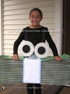 Homemade Geico Costume