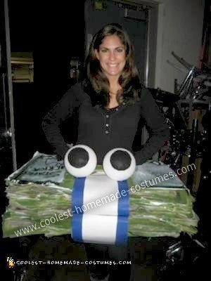 Homemade Geico Money Costume
