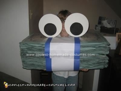 Homemade Geico Money Halloween Costume