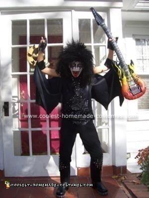 Homemade Gene Simmons Costume