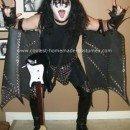 Homemade Gene Simmons Halloween Costume