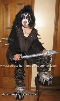 Homemade Gene Simmons KISS Costume