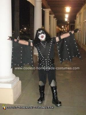 Homemade Gene Simmons KISS Costume