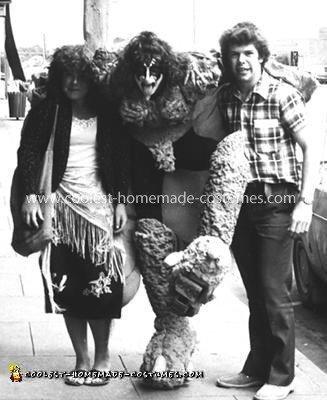 Coolest Homemade Gene Simmons Kiss Costume