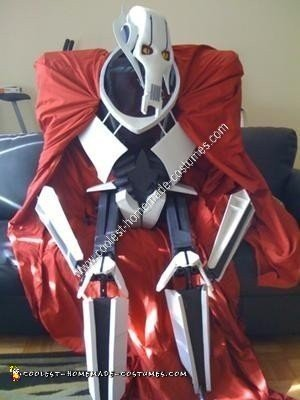 Homemade General Grievous Halloween Costume Idea