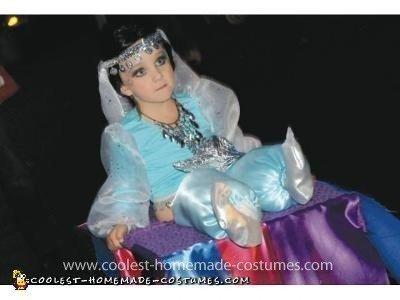 Homemade Genie Costume