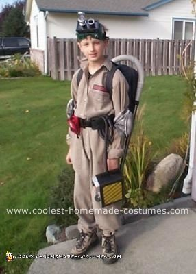 Homemade Ghost Buster Costume