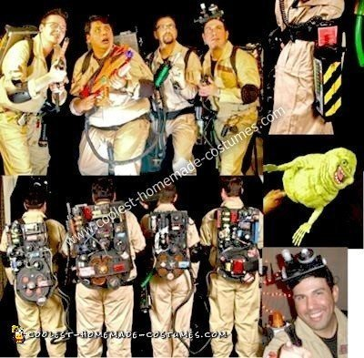 Homemade Ghostbusters Costumes