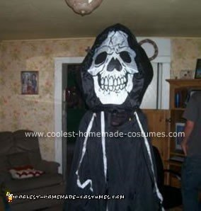 Homemade Giant Grim Reaper Halloween Costume