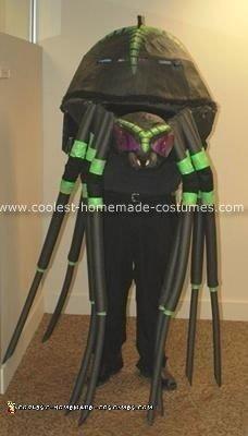 Homemade Giant Spider Costume