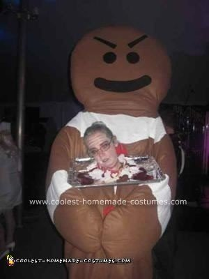 Homemade Gingerbread Man's Revenge Costume