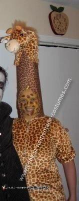 Homemade Giraffe Costume