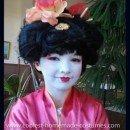 Coolest Homemade Girl's Geisha Costume