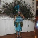 Homemade Girl's Peacock Costume