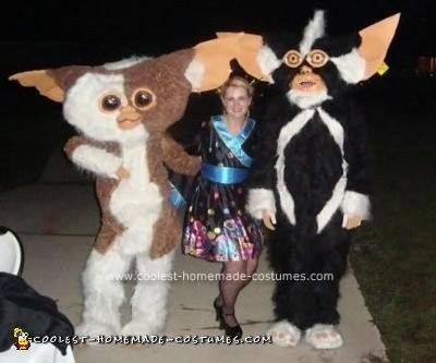 spike and gizmo homemade from the gremlins