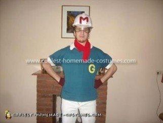 Coolest Homemade Go Mifune Speed Racer Costume