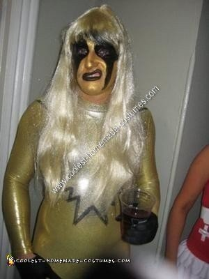 Homemade Goldust Halloween Costume Idea