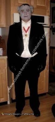 Homemade Grandpa Munster Costume