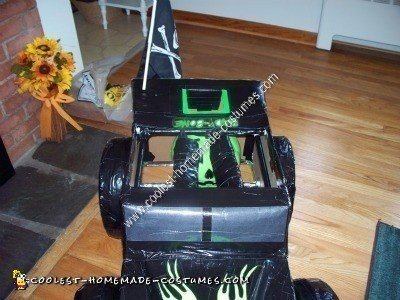 Homemade Grave Digger Monster Truck Halloween Costume