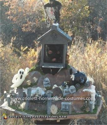 Homemade Graveyard Costume
